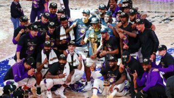 Los Angeles Lakers kutlama için Joe Biden'in göreve başlamasını bekliyor