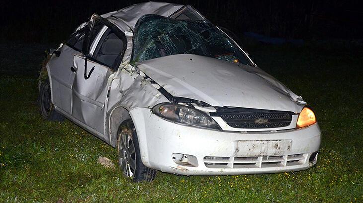 Antalya'da korkunç kaza! 1 ölü, 4 yaralı