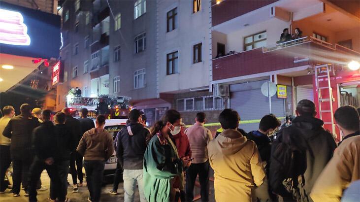Bağcılar'da korkutan yangın! Vatandaşlar sokağa döküldü