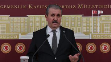 BBP Genel Başkanı Destici'den emekli amirallerin açıklaması