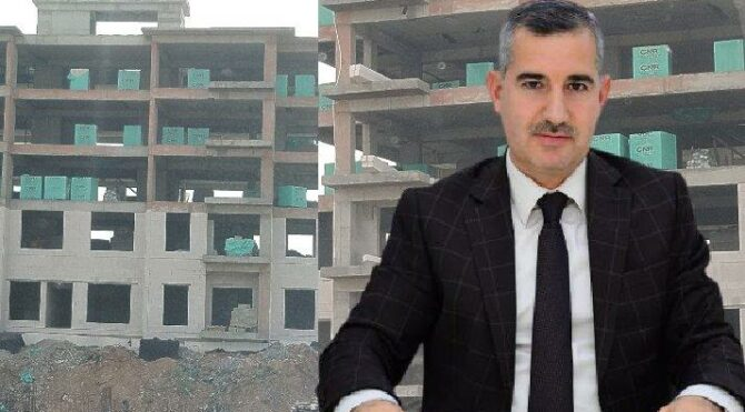 Belediye başkanı betonu aile şirketinden almış