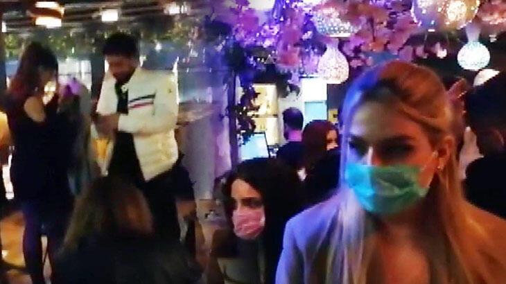 Beyoğlu'nda otelde parti yapan 100 kişiye koronavirüs baskını