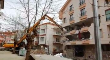 Çankaya'da yıkım çalışmaları başladı