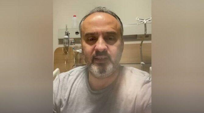 Coronaya yakalanan Bursa Büyükşehir Belediye Başkanı Alinur Aktaş hastaneye yatırıldı