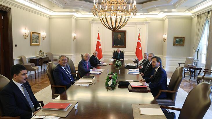 Cumhurbaşkanı Erdoğan, YİK Toplantısı'na başkanlık etti