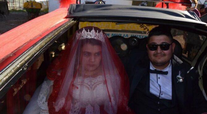 Dirftli evlilik teklifi yaptı, gelen cezayı ödemek için gelin arabasını satılığa çıkarttı