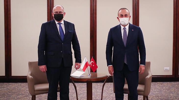 Dışişleri Bakanı Çavuşoğlu, Polonyalı mevkidaşı ile görüştü