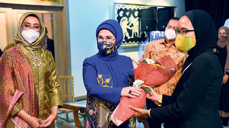 Emine Erdoğan, Endonezya'nın tanıtımı programına katıldı