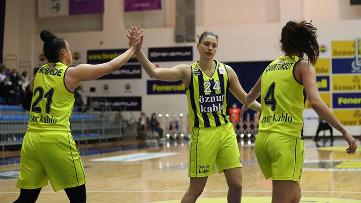 Fenerbahçe Öznur Kablo – Çankaya Üniversitesi: 86-61