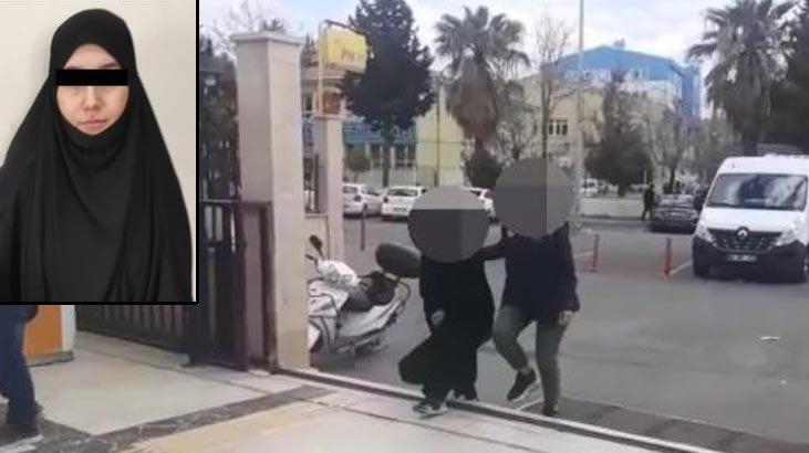 Gri kategoride aranan DEAŞ'lı kadın terörist, Şanlıurfa'da yakalandı