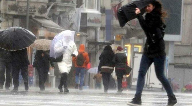İki gün içinde 10 derece birden düşecek! Hava durumu değişiyor…