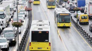 İstanbul'da toplu taşımaya 'kapanma' düzenlemesi