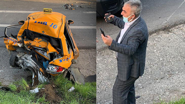 Kaza yerine geldi, arkadaşının aracını gördü! Ağladı…