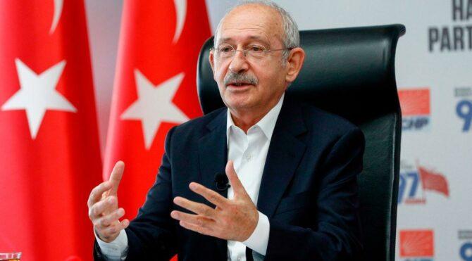 """Kılıçdaroğlu'ndan """"özgür ve demokratik Türkiye"""" mesajı"""