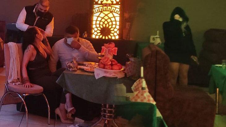 Konya'da alkollü eğlence mekanına baskın; 53 kişiye 333 bin 900 lira ceza