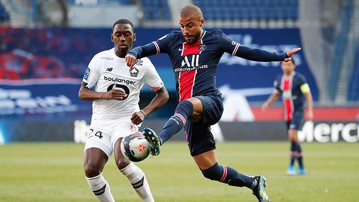 Lille, PSG'yi 1-0 yenerek yeniden liderliğe yükseldi
