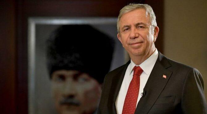 Mansur Yavaş: Ankara'yı al-bayrağımız ve büyük önder Atatürk'ün afişleri ile donattık