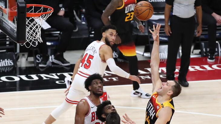 NBA lideri Jazz, evinde peş peşe 21. maçını kazandı
