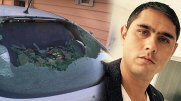 Otomobilde oturuyordu! Korkunç olay…