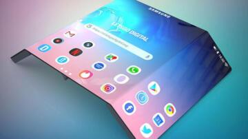 Samsung 3 ekranlı katlanabilir akıllı telefon için patent aldı