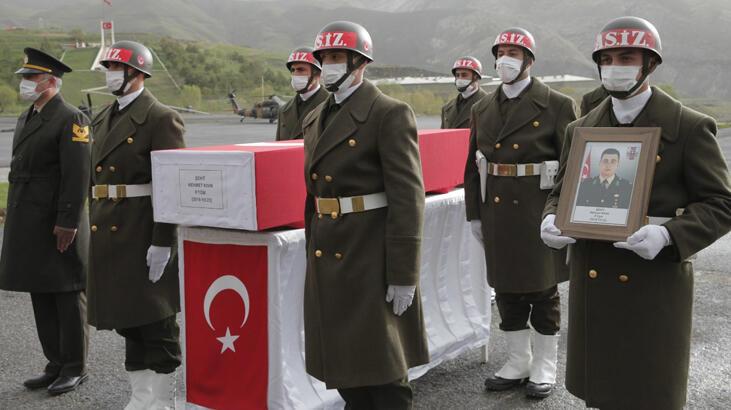 Şehit Teğmen Kıvık, törenle memleketine uğurlandı