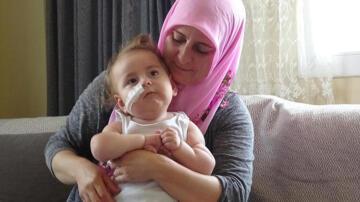 SMA hastası İkra Deniz'in tedavi olabilmesi için son 1 ay kaldı