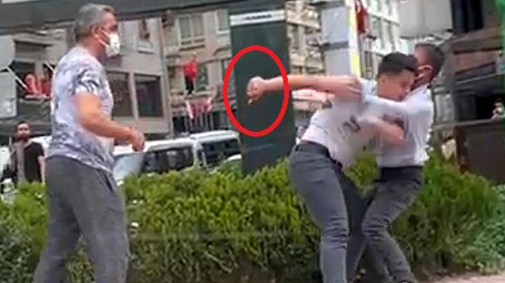 Son dakika haberi: Cadde ortasında bıçaklı kavga! Ortalık bir anda karıştı