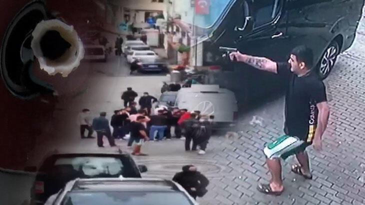 Son dakika: İstanbul'da silahlar çekildi! Ortalık savaş alanına döndü