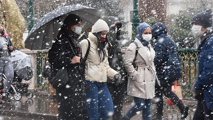 Son dakika… . Meteoroloji İstanbul için saat verdi! 4 il için flaş kar uyarısı