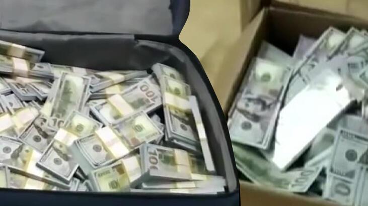 Son dakika: Milyonlarca liralık dolar! Valizlere ve kolilere doldurdular