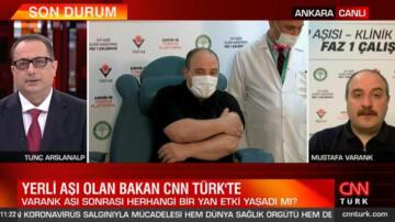 Son dakika… Yerli aşı olan Bakan Varank'tan açıklama! Herhangi bir yan etki yaşadı mı?