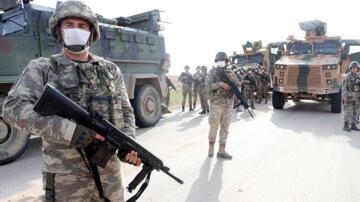 Suriye'de askerin eli tetikte, teröristlere göz açtırılmıyor