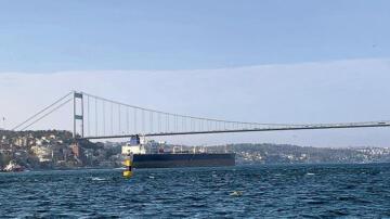 Talimatlara uymayan gemiye Boğaz kapalı