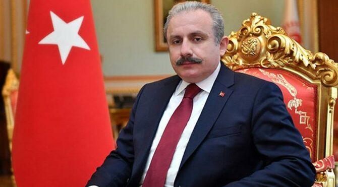 TBMM Başkanı Mustafa Şentop: Sendikaların yeni anayasaya katkı sağlamalarını bekliyorum