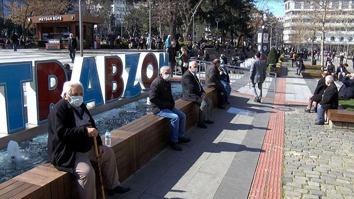 Trabzon'da, aşılamada sona yaklaşılan 65 yaş üzerinde vakalar azaldı
