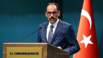 Cumhurbaşkanlığı Sözcüsü Kalın'dan İsrail'in uluslararası basını hedef almasına tepki