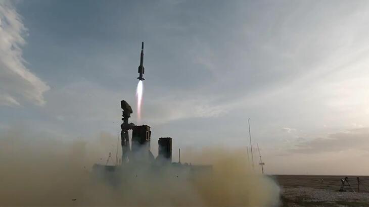 HİSAR A+ yüksek hızlı hedef uçağını başarıyla imha etti!