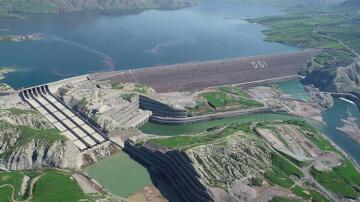 'Ilısu Barajı'ndan milli ekonomiye 1,9 milyar lira katkı sağlandı'