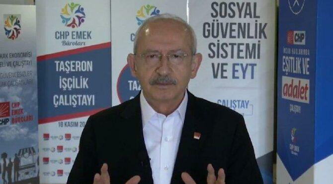 Kılıçdaroğlu'ndan videolu 1 Mayıs mesajı