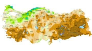 Meteoroloji'den korkutan harita! Son 50 yılın en düşük seviyesi görüldü