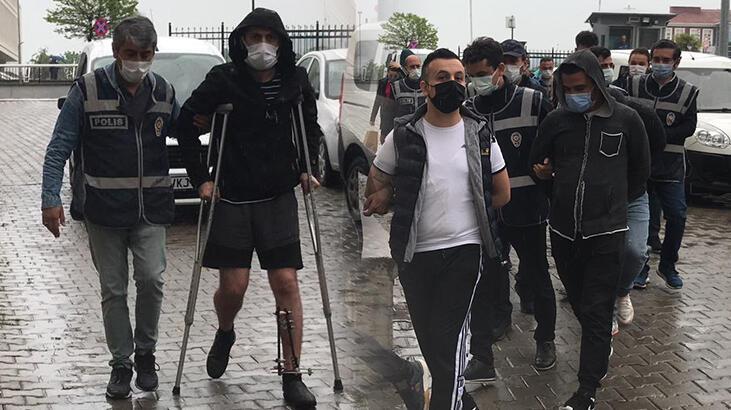 Samsun'da kumar oynayanlara baskın! 17 kişi yakalandı