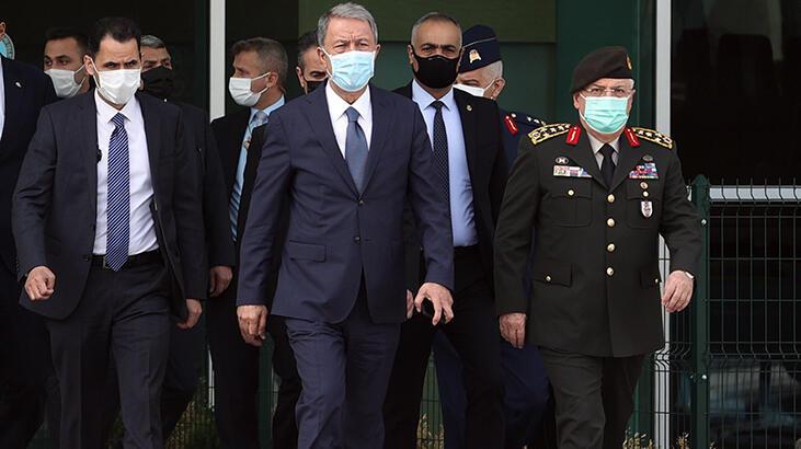Son dakika! Bakan Akar ve Genelkurmay Başkanı Güler Libya'ya gitti