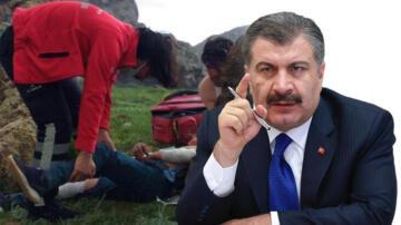 Son dakika haberi: Erek Dağı'nda nefes kesen anlar! Bakan Koca paylaştı