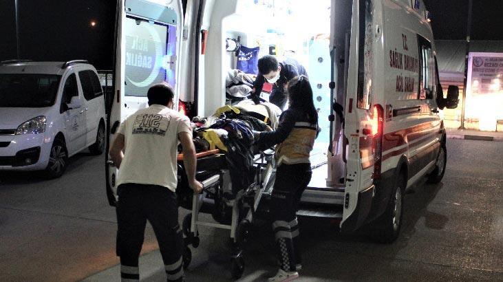 Tarım işçilerini taşıyan minibüs takla attı: Yaralılar var