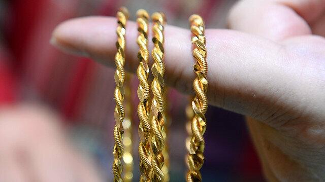 Altın fiyatları kritik sınıra geriledi