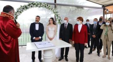 Meral Akşener nikah şahitliği yaptı: Birbirinize sımsıkı sarılın