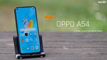 Oppo'nun yeni akıllı telefonlarından Oppo A54 karşınızda