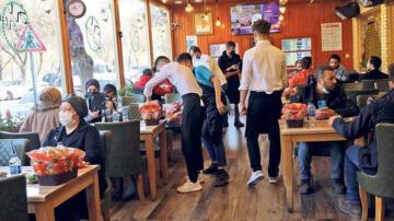 Restoranlarda masalar arası 2 metre olacak