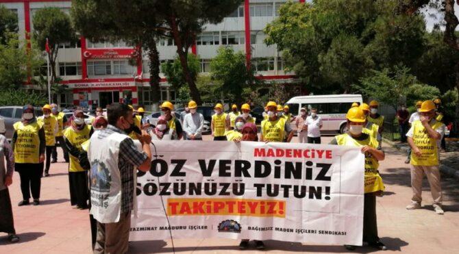 'Sabrımız kalmadı' diyen Somalı madenciler Ankara yolunda