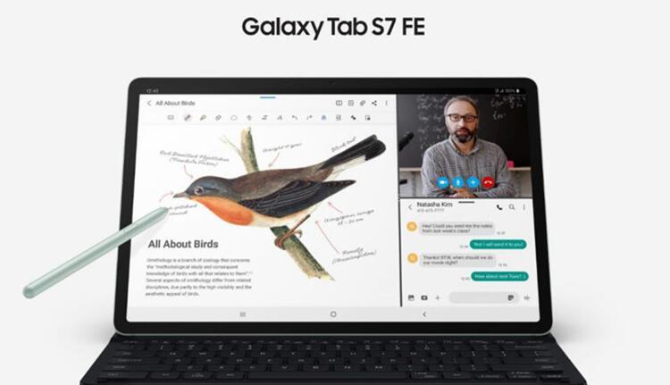 Samsung ilk Fan Edition tabletini piyasaya sürüyor